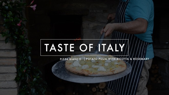 Screenshot: Taste of Italy Pizza with Potatoes