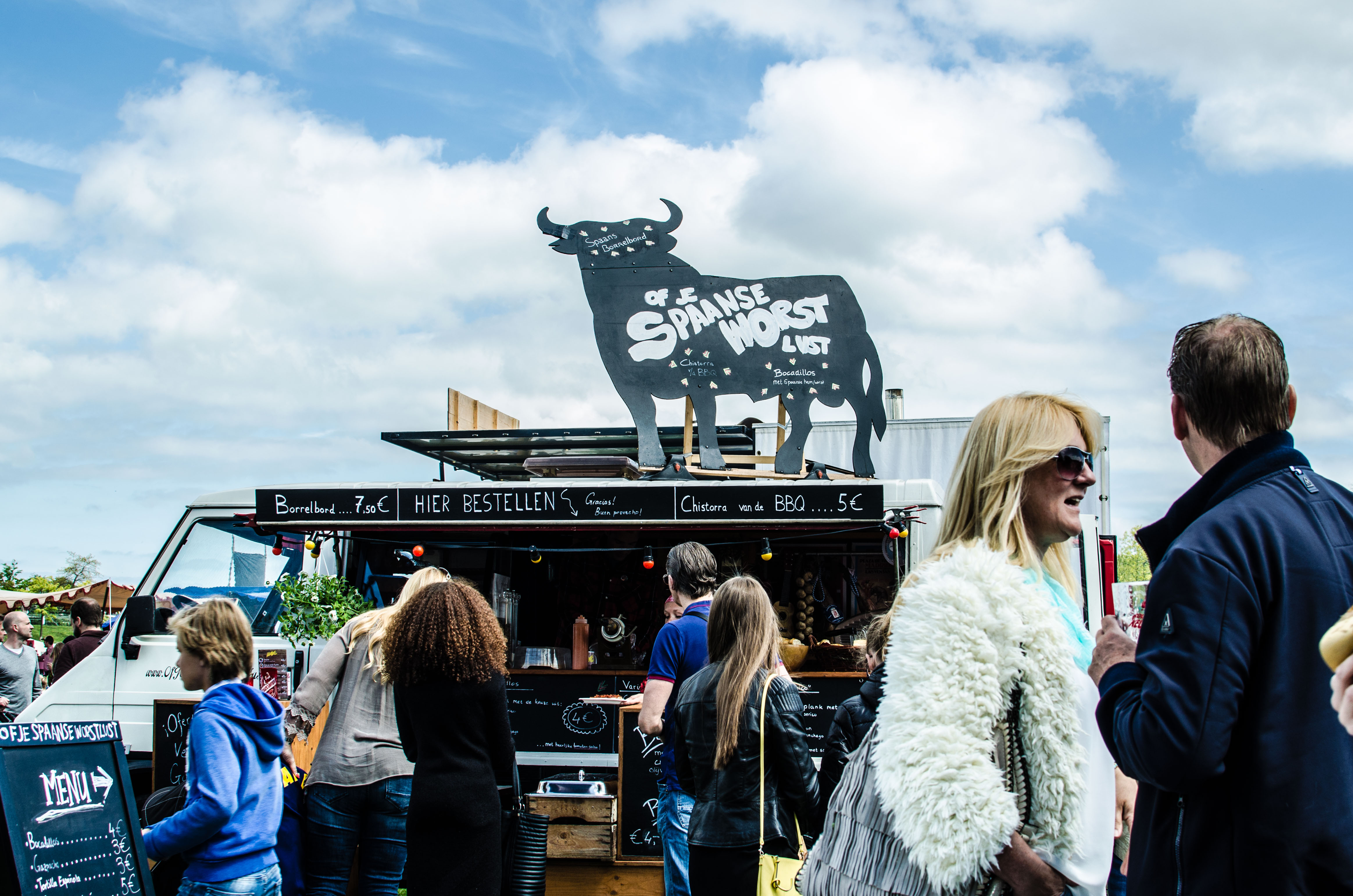 Menu Rolling Soul Food Truck