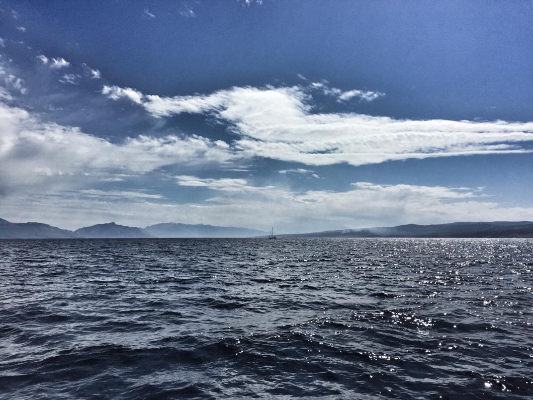 Dalmatian islands sea